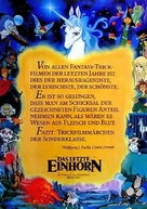 The Last Unicorn - German Movie Poster (xs thumbnail)