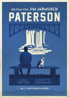 Paterson - German Movie Poster (xs thumbnail)