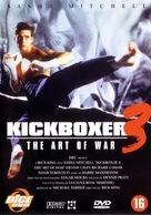 Kickboxer 3: The Art of War - Dutch DVD cover (xs thumbnail)