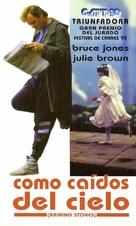 Raining Stones - Argentinian VHS cover (xs thumbnail)