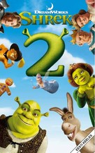Shrek 2 - Estonian VHS movie cover (xs thumbnail)