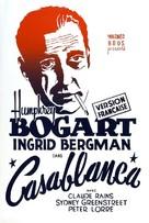 Casablanca - French Movie Poster (xs thumbnail)