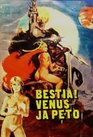 La bestia nello spazio - Finnish Movie Poster (xs thumbnail)