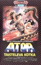 Ator l'invincibile - Finnish VHS movie cover (xs thumbnail)