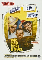 We're No Angels - German Movie Poster (xs thumbnail)