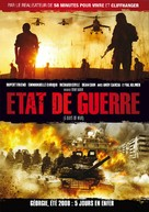 5 Days of War - French DVD movie cover (xs thumbnail)