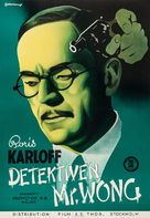 Mr. Wong, Detective - Swedish Movie Poster (xs thumbnail)