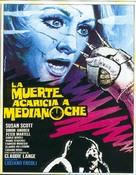 Morte accarezza a mezzanotte, La - Spanish Movie Poster (xs thumbnail)