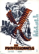 The Professionals - French Movie Poster (xs thumbnail)
