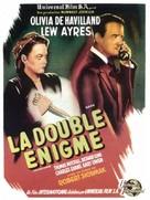 The Dark Mirror - French Movie Poster (xs thumbnail)