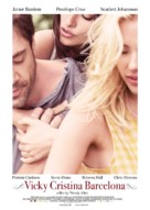 Vicky Cristina Barcelona - Belgian Movie Poster (xs thumbnail)