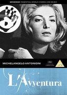 L'avventura - British DVD cover (xs thumbnail)
