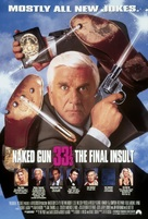 Naked Gun 33 1/3: The Final Insult - Movie Poster (xs thumbnail)