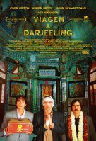 The Darjeeling Limited - Brazilian Movie Poster (xs thumbnail)