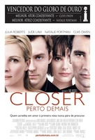 Closer - Portuguese Movie Poster (xs thumbnail)