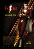 Shazam! - Latvian Movie Poster (xs thumbnail)