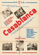 Casablanca - Austrian Movie Poster (xs thumbnail)