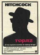 Topaz - Spanish Movie Poster (xs thumbnail)