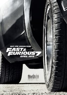 Furious 7 - German Movie Poster (xs thumbnail)