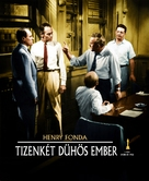 12 Angry Men - Hungarian Movie Poster (xs thumbnail)
