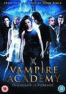 Vampire Academy - British DVD movie cover (xs thumbnail)