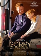 Sorry We Missed You - Belgian Movie Poster (xs thumbnail)