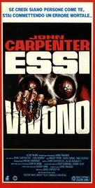 They Live - Italian Movie Poster (xs thumbnail)
