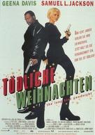 The Long Kiss Goodnight - German Movie Poster (xs thumbnail)