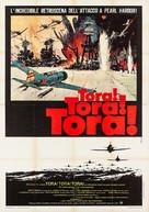 Tora! Tora! Tora! - Italian Movie Poster (xs thumbnail)