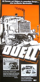 Duel - German Movie Poster (xs thumbnail)