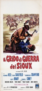 Red Tomahawk - Italian Movie Poster (xs thumbnail)