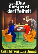 La fantôme de la liberté - German Movie Poster (xs thumbnail)