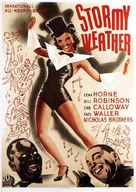 Stormy Weather - Swedish Movie Poster (xs thumbnail)