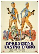 Cleopatra Jones and the Casino of Gold - Italian Movie Poster (xs thumbnail)