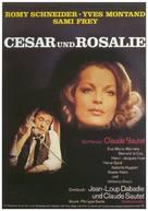 César et Rosalie - German Movie Poster (xs thumbnail)