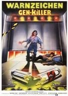Warning Sign - German Movie Poster (xs thumbnail)