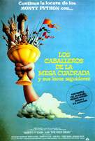 Monty Python and the Holy Grail - Spanish Movie Poster (xs thumbnail)
