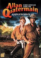 Allan Quatermain and the Lost City of Gold - Danish DVD movie cover (xs thumbnail)