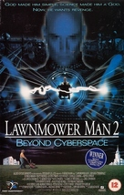 Lawnmower Man 2: Beyond Cyberspace - British VHS cover (xs thumbnail)