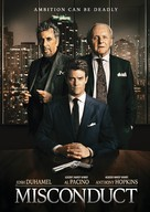 Misconduct - Canadian DVD movie cover (xs thumbnail)