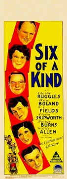 Six of a Kind - Australian Movie Poster (xs thumbnail)