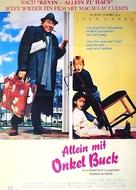Uncle Buck - German Movie Poster (xs thumbnail)