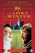 The Lion in Winter - German DVD cover (xs thumbnail)