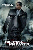 Law Abiding Citizen - Italian Movie Poster (xs thumbnail)
