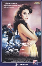 Lady Beware - Finnish VHS movie cover (xs thumbnail)