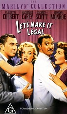 Let's Make It Legal - Australian VHS cover (xs thumbnail)
