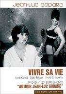 Vivre sa vie: Film en douze tableaux - French Movie Cover (xs thumbnail)