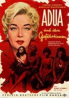 Adua e le compagne - German Movie Poster (xs thumbnail)