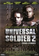 Universal Soldier II: Brothers in Arms - French Movie Cover (xs thumbnail)