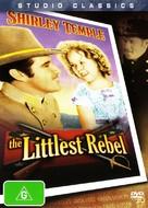 The Littlest Rebel - Australian DVD cover (xs thumbnail)